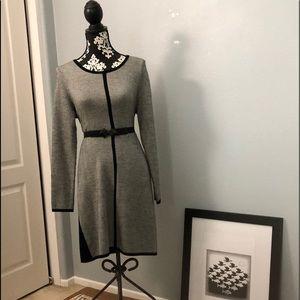 Women's Long Sleeved Sweater Dress